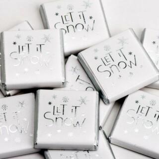 Kerst Chocolade - Let it Snow
