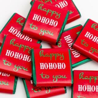 Kerst Chocolade - Happy Ho Ho Ho