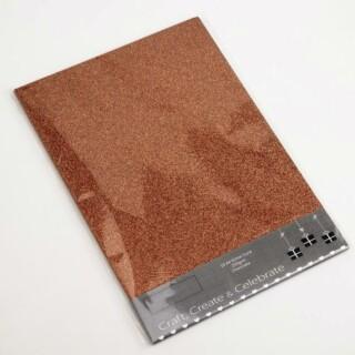 Glitter Kaarten Chocolate - 10 Stuks