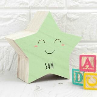Souvenirs Doosje Kind met Naam - Smiling Star