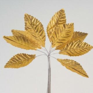 Goud Satijnen Blaadjes - 144 stuks