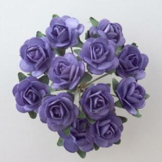 Papieren Theeroos Lavendel - 144 stuks