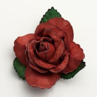 Grote Open Roos Rood - 12 stuks