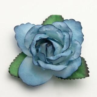 Grote Open Roos Blauw - 12 stuks
