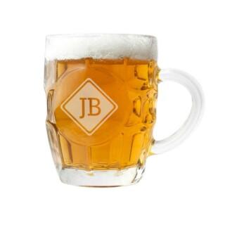 Bierpul met Initialen Gepersonaliseerd 2
