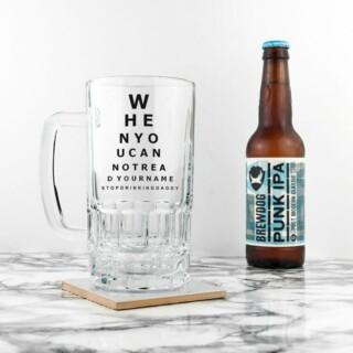 Bierpul met Oogmeting Gepersonaliseerd