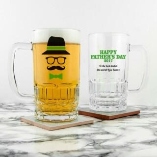 Bierpul Hipster Vader Gepersonaliseerd